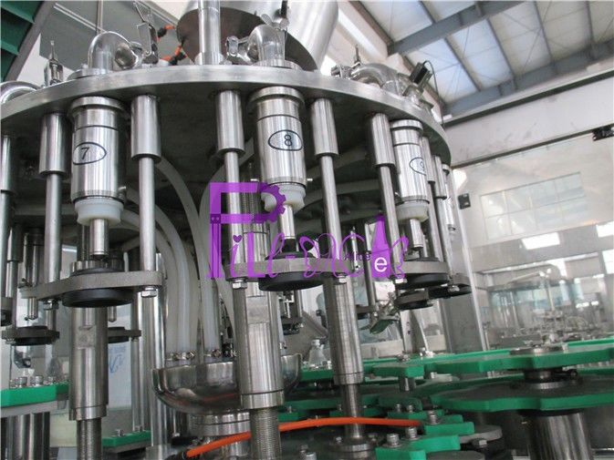3-in-1 Aseptic Liquid Filler Equipment Electric Beverage Filling Line 5000BPH