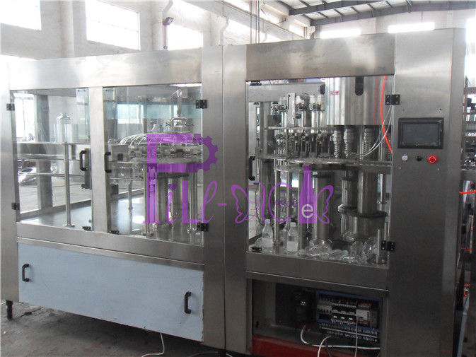 Soft Drink Bottle Filling Machine Automatic Capping Equipment 15000BPH