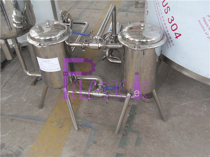 Stainless Steel 200 Mesh Bottle Juice Double Filter For Beverage Making Machine